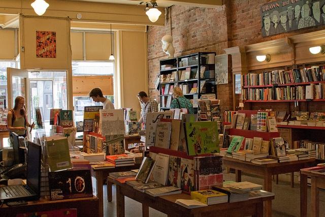 a bookstore on rue bernard taken by abaesel
