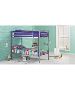Buy Samuel Shorty Bunk Bed Frame - Silver at Argos.co.uk, visit Argos.co.uk to shop online for Children's beds, Children's beds