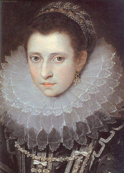 POURBUS, Frans the Younger  (b. 1569, Antwerpen, d. 1622, Paris)  Portrait of an Italian Lady