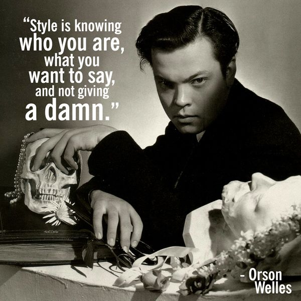 Me And Orson Welles Quotes. QuotesGram