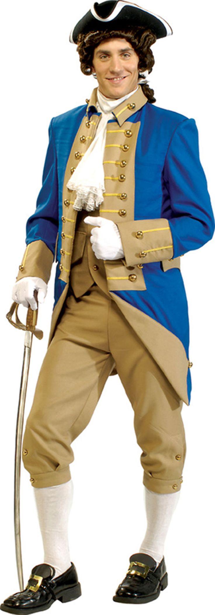 Adult George Washington Halloween Costume - Colonial Costumes