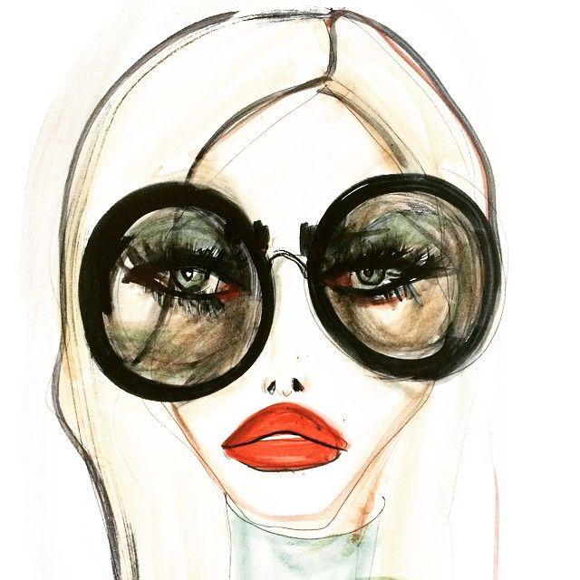 """blondelasagna:  """"Hide Me"""" shades #kwtimemachine"""