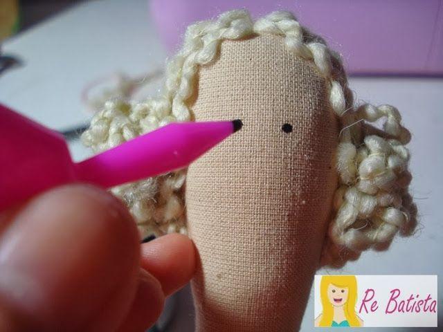 Tutorial Tilda Costureira - Parte 3 - DIY Tilda Sewing @r e Batista