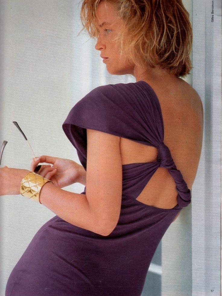 Elle France August 5th,1985 Model: Bonnie Berman Photographer: Gilles Bensimon