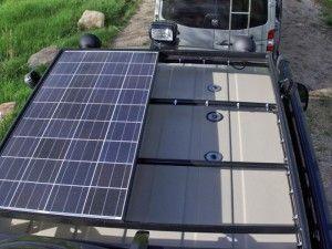 Roof Rack Solar And Solar Panels On Pinterest