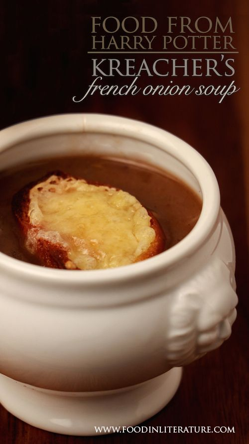 There's nothing more comforting than a bowl of soup in autumn or winter. But by making Kreacher's French Onion soup, you can turn your family dinner into something a bit more special with this Harry Potter recipe.