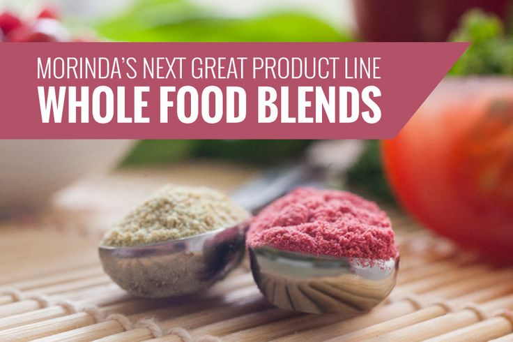 Eating foods of a variety of colors can be tricky! Whole Food Blends makes it easy.