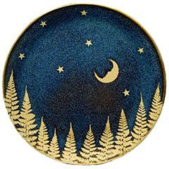 Moon And Stars Plate, Shaker Workshop