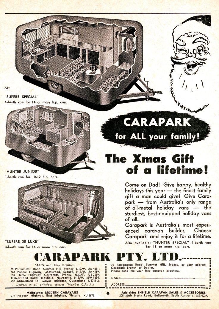 Carapark Australian Motor Monthly - Dec 1954