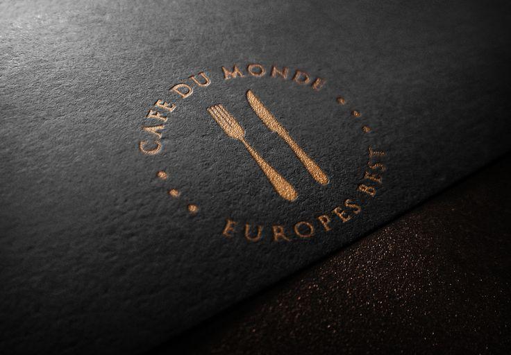 Cafe Du Monde Logo - www.chicdesign.co.nz