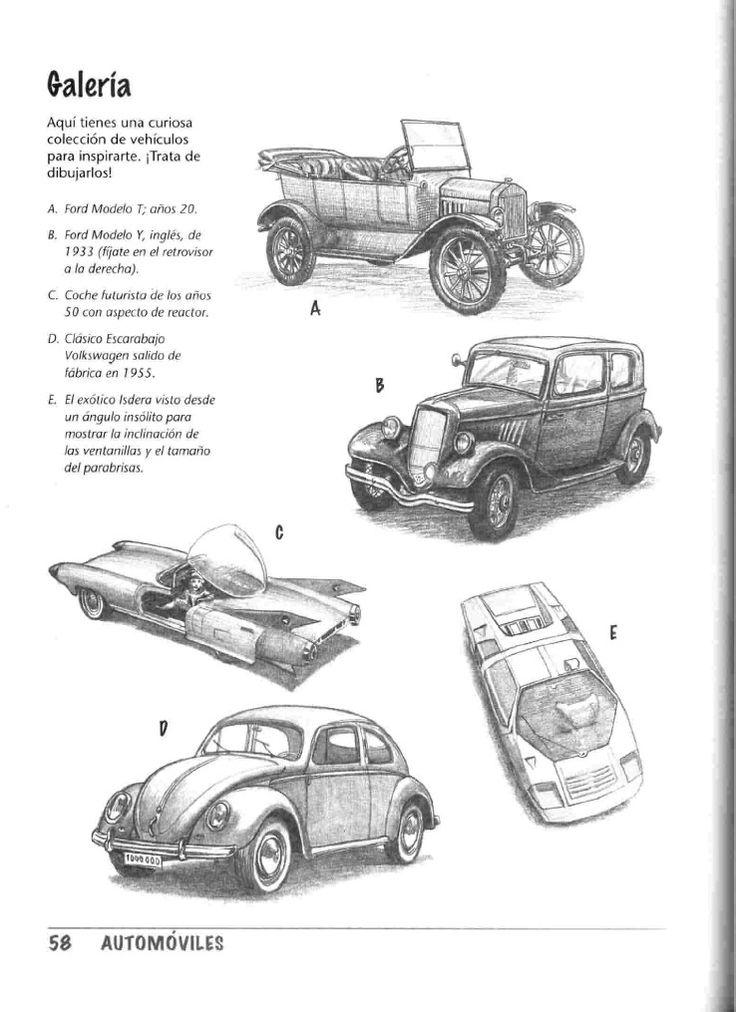 como dibujar autos paso a paso