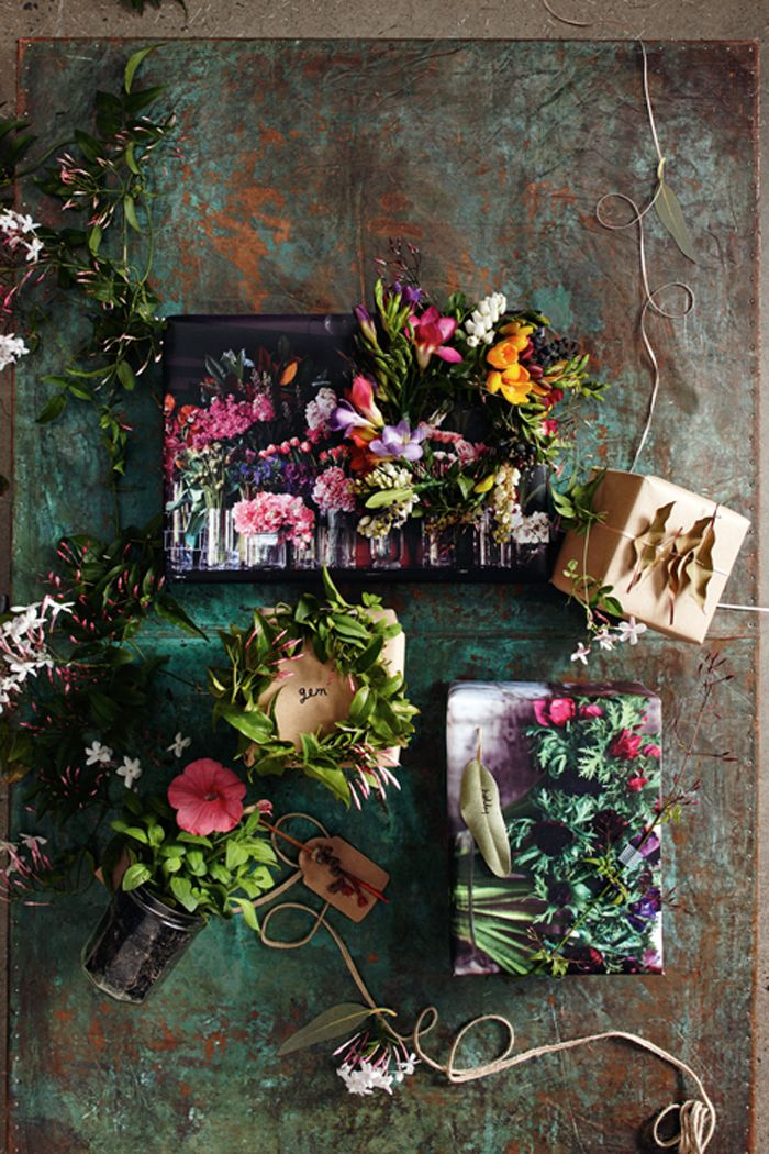 Gift wrapping ideas - Inside Out Magazine - Entertaining Issue - Sneak Peek Styling | Vanessa Colyer Tay Photography | Guy Bailey