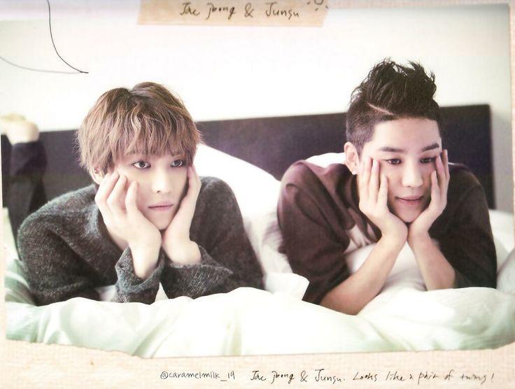 JJ and Junsu - 2014 JYJ Calendar