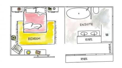 1000 images about master layouts on pinterest master for Ensuite plans