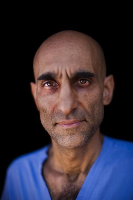 Sudan, Gidel, 2012. Dr. Tom Catena, an American surgeon working in the Nuba Mountains in Sudan. Dominic Nahr