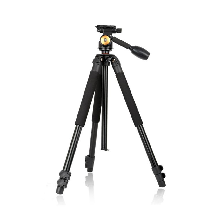 QZSD Q360 Travel Camera Tripod Stand for 1/4 DSLR/SLR