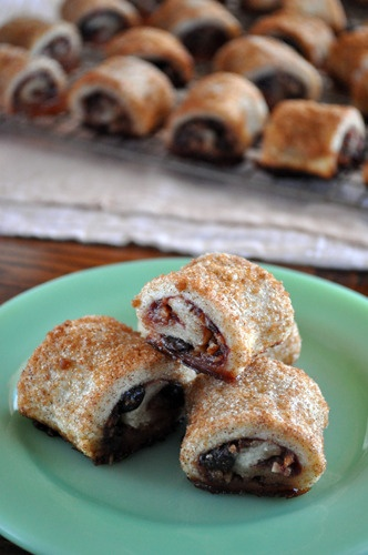 Rugelach - homemade, interesting going to give it a try with Dried Apricot filling