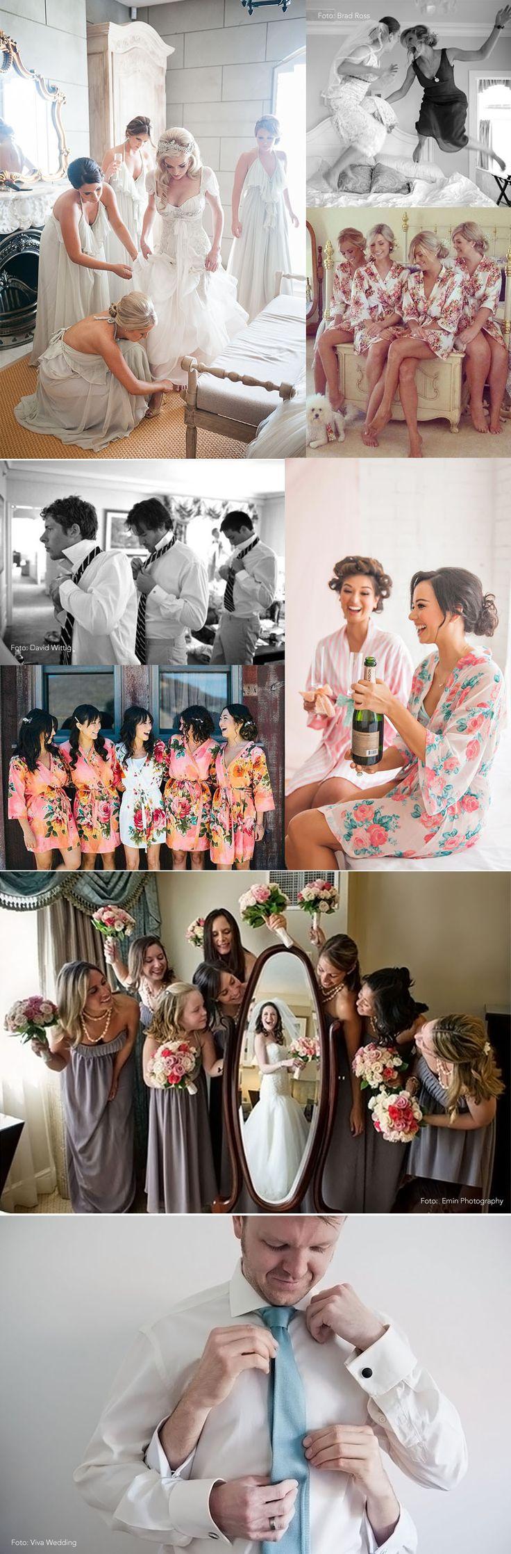 As fotos tradicionais e clássicas do casamento são mais do que necessárias. A foto das madrinhas e padrinhos lado a lado é insubstituível. Mas, depois