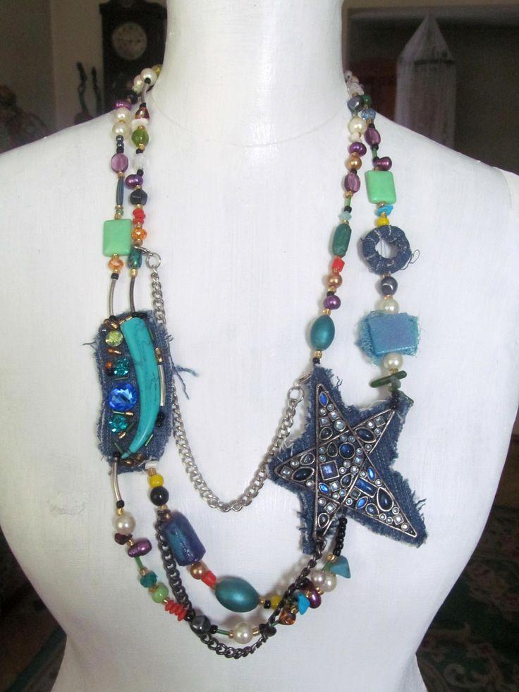 naszyjnik, necklace, proj. Ewa Andruszkiewicz