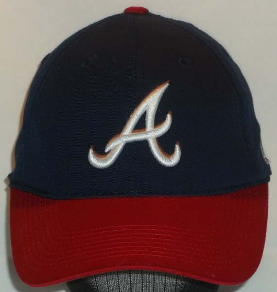 Vintage Baseball Cap MLB Atlanta Braves Team Sports Hats.  Find more in our ETSY Shop at http://BaseballCapsAndHats.etsy.com
