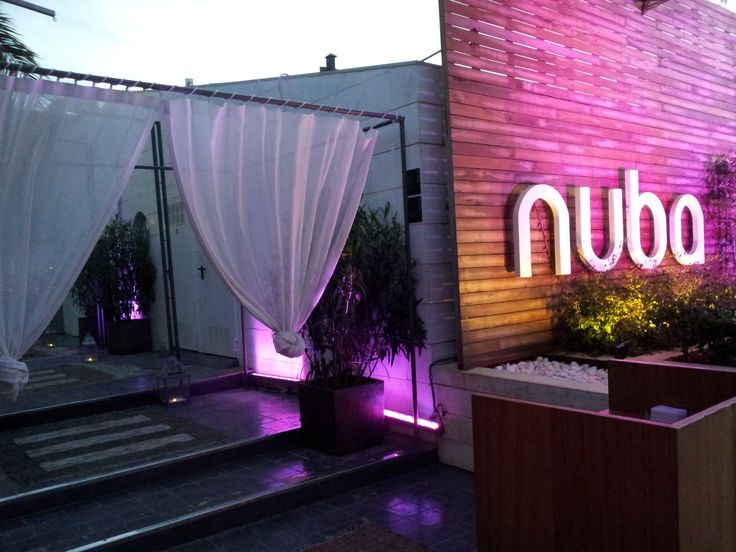 Nuba Ibiza Restaurante after dinner party. Nuba Ibiza is a marvellous restaurant & lounge located in Marina Ibiza, the most exclusive spot of the island #ibizarestaurants #Nuba #LaMarina