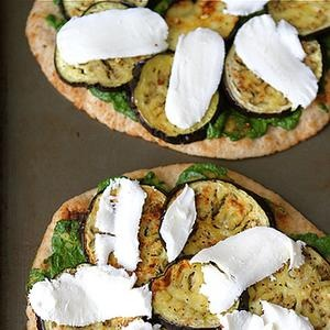 Naan Pizza with Eggplant | Food | Pinterest | Naan Pizza, Naan ...