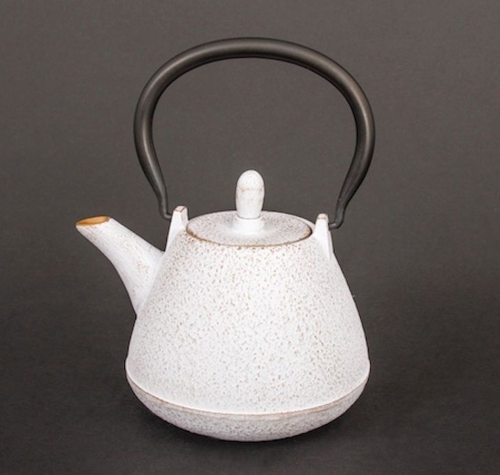 Teekanne Gußeisen m.Sieb Iwachu Nanbu Japan 0,4 L Teekessel Tee cast iron teapot