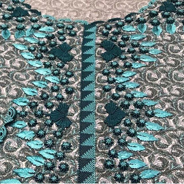 المتميزه للرندا والقفطان بأسعار أقل من السوق ويوجد الجاهز والتفصيل وتوفير الأقمشه بكل انواعها خدمه مجانيه لأختيار الموديل Special R Quilts Embroidery Blanket