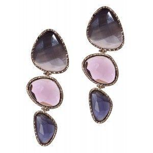 Pendientes joyas de ópalo tres colores www.sanci.es
