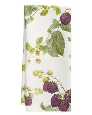 Botanical Blackberry Towels, Set Of 2 #williamssonoma