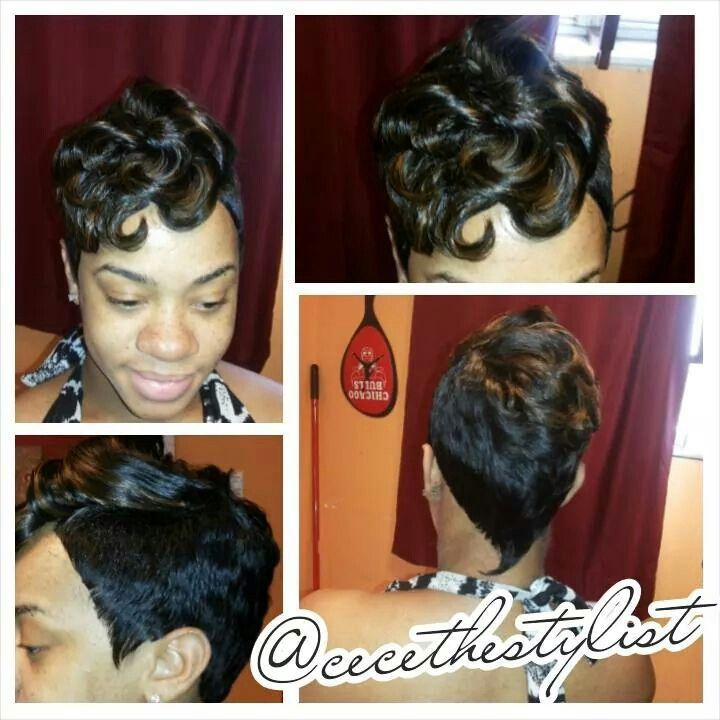 Brilliant 1000 Ideas About 27 Piece Hairstyles On Pinterest Quick Weave Hairstyles For Women Draintrainus