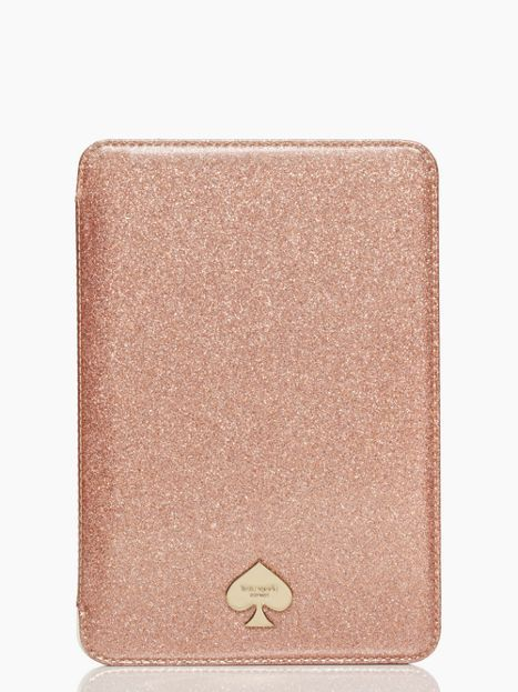 mini ipad folio hardcase glitter bug - kate spade -- I think I want an iPad mini just for this case..I just wish they had one for the iPad Air