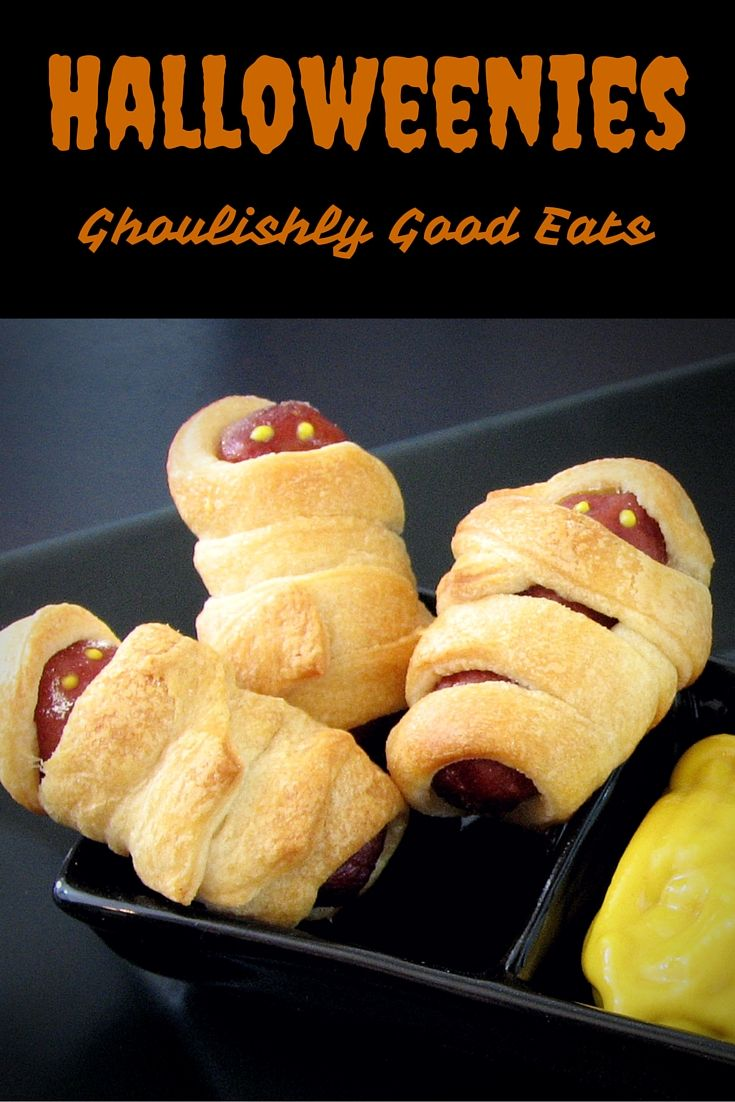 halloweenies a ghoulishly good halloween buncohalloween party recipeshalloween appetizershalloween - Halloween Savory Recipes