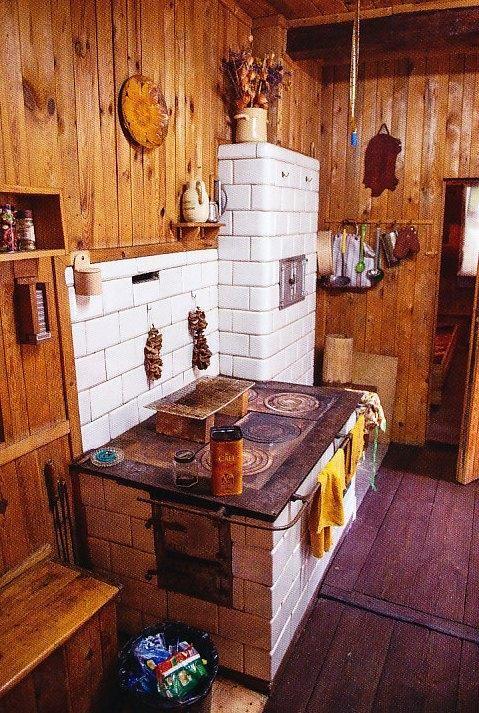 Wnętrze domu we wsi Siwki