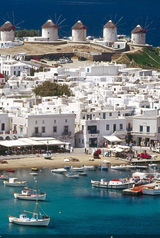 Mykonos, Greece: top 10 destinations in the world for unforgettable holidays...