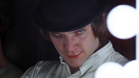 A CLOCKWORK ORANGE  Directed by STANLEY KUBRICK  United States, United Kingdom, 1971  SYNOPSIS  In a dystopic future Britain, Beethoven-loving Alex heads the 'Droogs'. A gang of proto-punks whose ultra-violent tendencies dictate their macabre nightly adventures in crime. When captured, Alex submits to equally torturous methods of psychological conditioning to earn back his freedom.