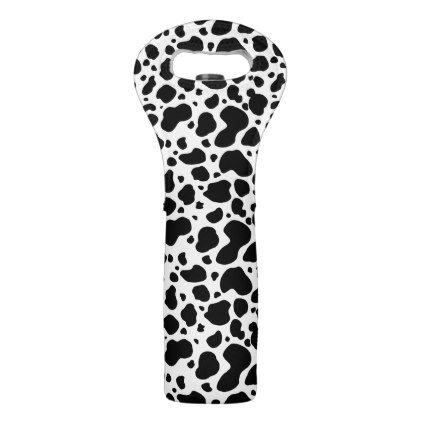 Ms de 25 ideas increbles sobre cow spots en pinterest cow mug cow spots pattern black and white animal print wine bag pronofoot35fo Gallery