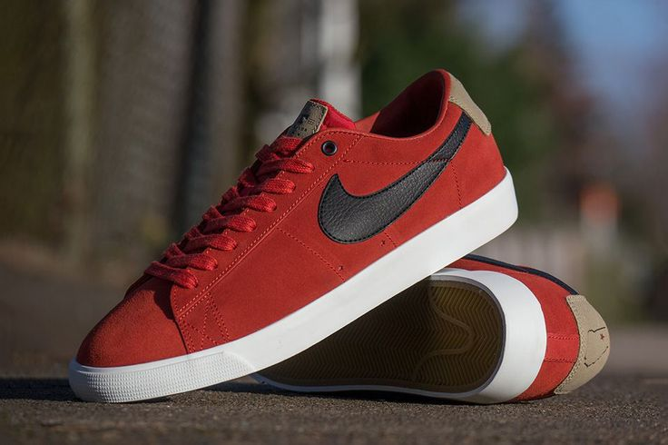 "The latest ""Support Your Local"" drop from Nike SB pays homage to pro skater Grant Taylor's family skate shop in Atlanta. Aptly dubbed the ""Stratosphere,"" the latest Blazer Low GT features a ""Cinnabar""..."