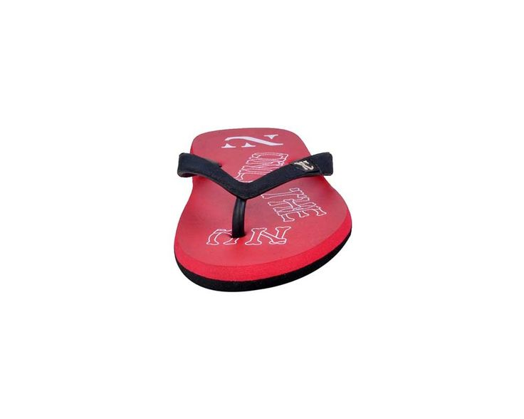 Numero Uno Men's Red and Black Slipper - NU-213RED_BLK only @ Rs. 279