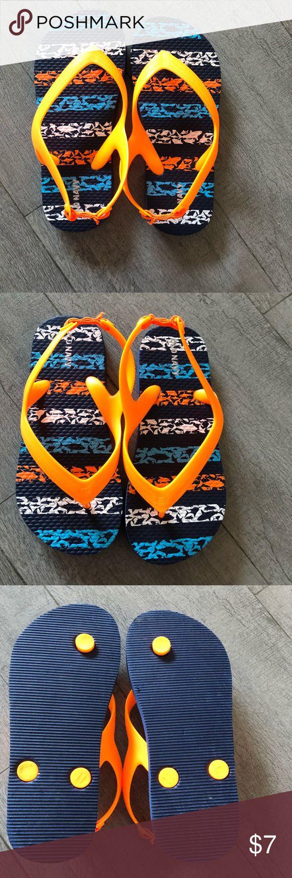 Brand new little boys flip flops Brand new, never worn little boys flip flops Old Navy Shoes Sandals & Flip Flops