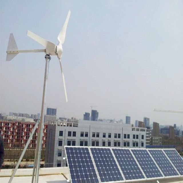 Source 1KW 2KW 3KW wind generator solar panel home kit/5kw