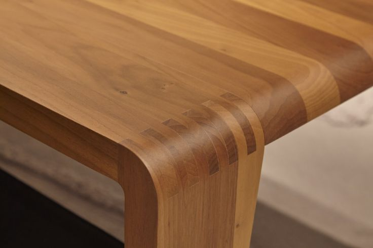 Spirit of the Forest dining table detail.Design Peper Maly for Ligne Roset and coming in store later in 2016
