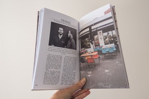 Espresso Tales Magazine Volume 1 a by EspressoTalesMag on Etsy (Truman Cafe in Melbourne) #coffee #cafes #Melbourne #magazine #publishing #Photography