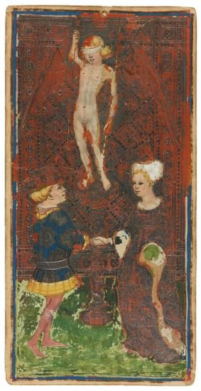 Love | Visconti-Sforza Tarot Cards | The Morgan Library & Museum