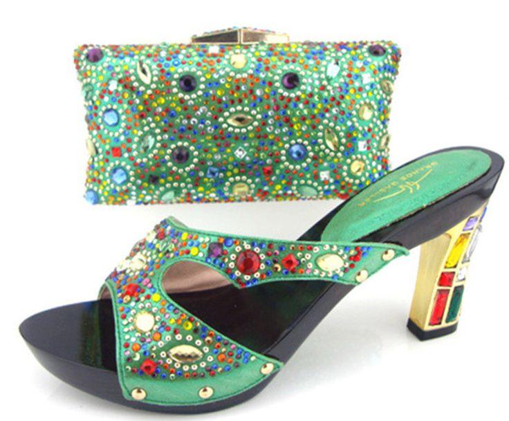 High Fashion Italian Shoe and bag set