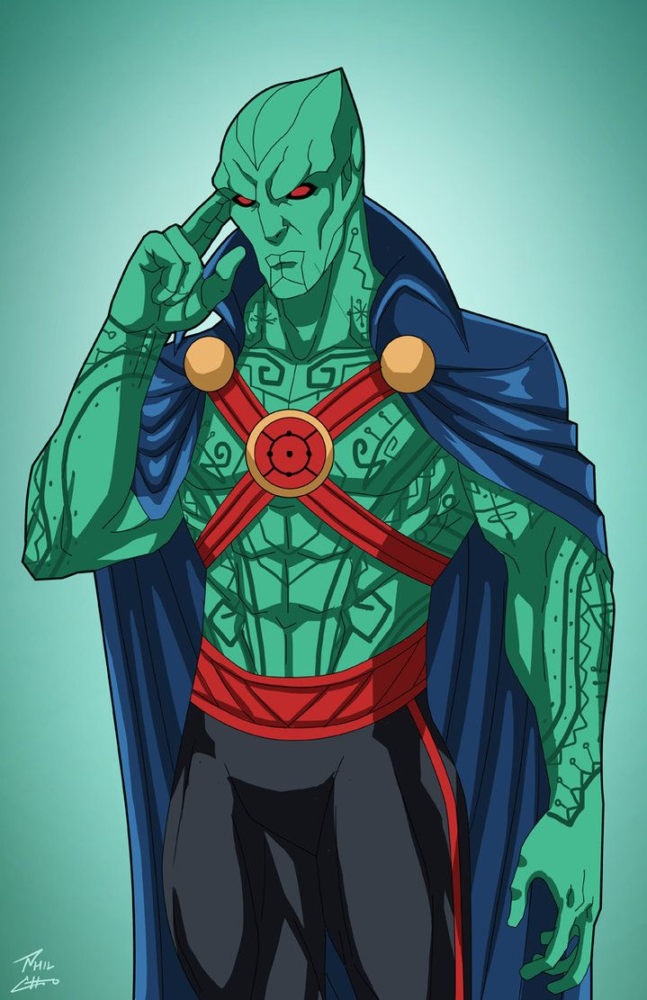 J'onn J'onzz (Earth-27) commission by phil-cho on DeviantArt