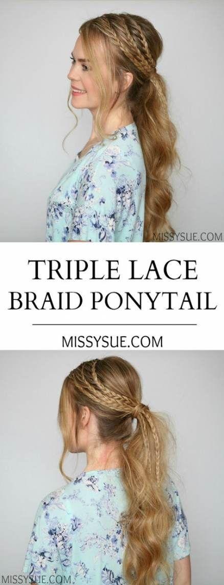 Super Braids Ponytail Hairdos 31 Ideas