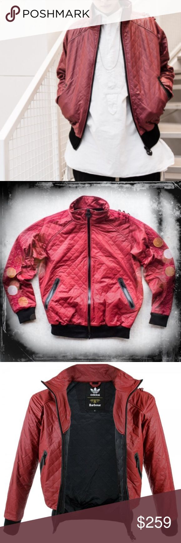 Adidas x Barbour Bomber Jacket, Size M *Host Pick* Authentic. Never used. This is an Adidas Originals x Barbour limited edition collection. The outer shell is rain resistant and the inner shell is soft. The jacket is designed to be a unisex cut. Looks great with jeans! Size medium. (MH61EEM) Adidas Jackets & Coats