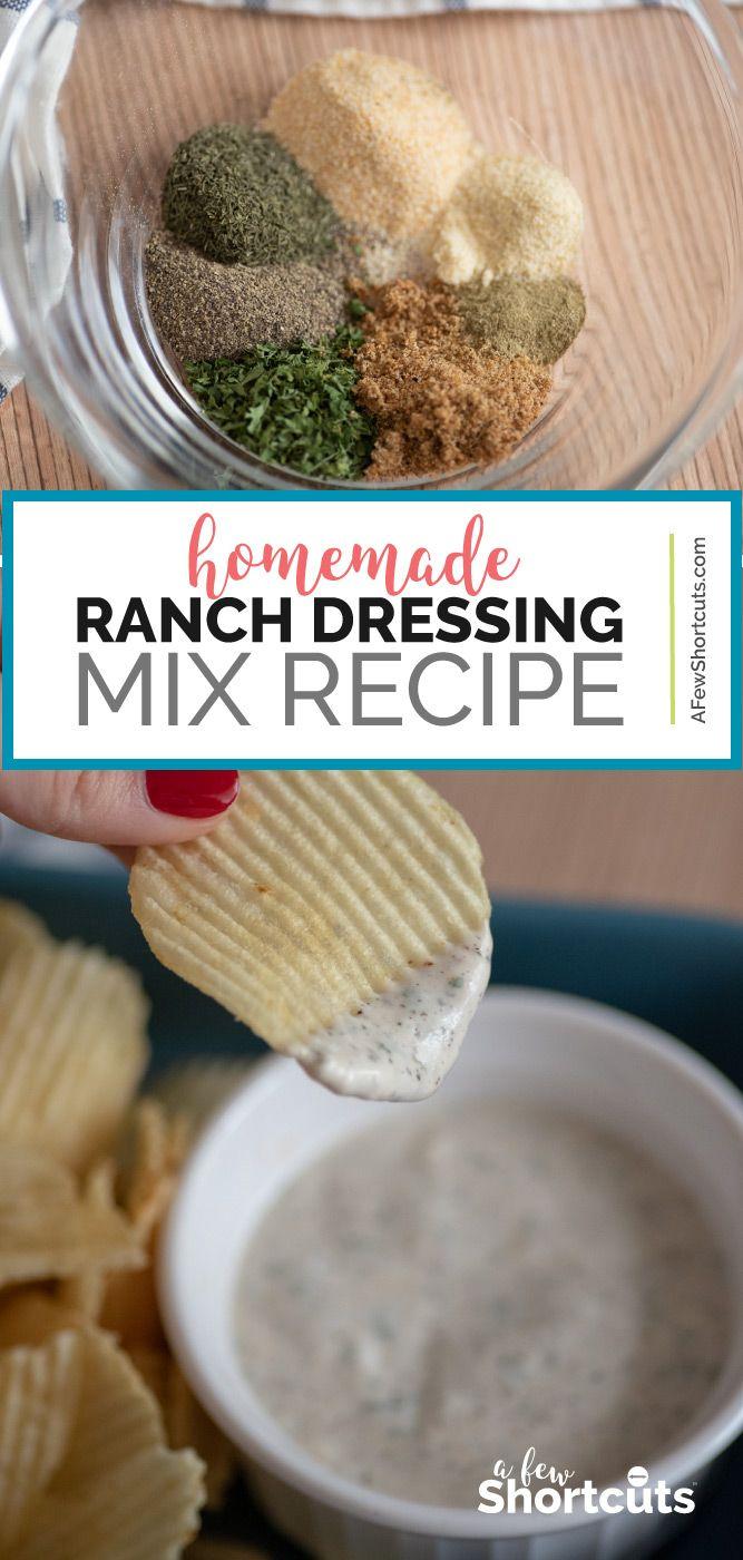Homemade Ranch Dressing Mix