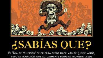 #SabiasQue El #DiaDeMuertos se celebra desde hace más de 3,000 años...